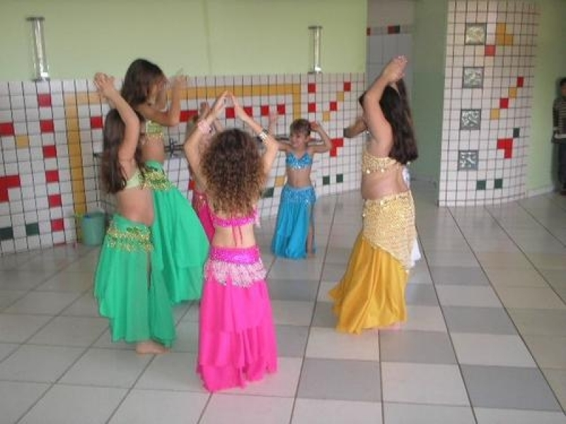 Aprender Dança do Ventre Infantil Parque Colonial - Dança do Ventre Aula