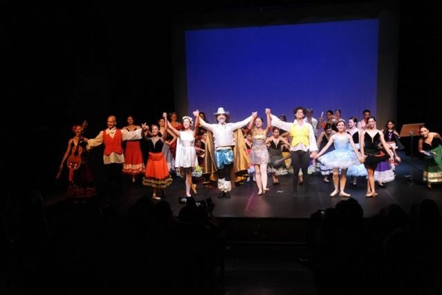 Aula de Ballet Completa Parque Colonial - Aula de Ballet Infantil