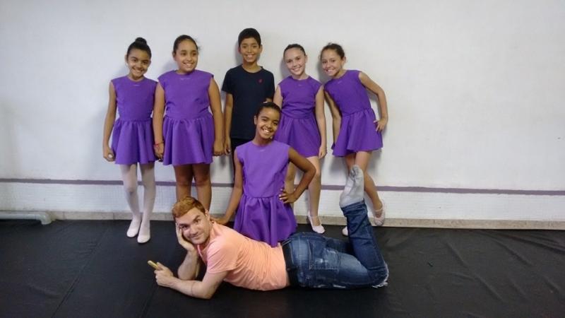 Aula de Ballet Royal Valor Interlagos - Aula de Ballet Moderno
