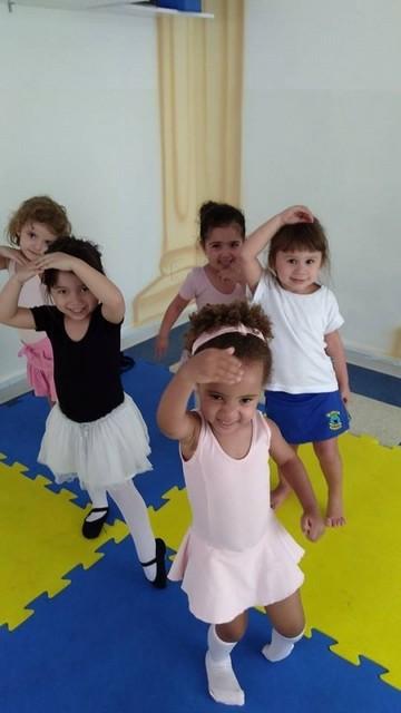 Ballet Infantil Aula Valor Parque do Otero - Escola de Ballet Infantil
