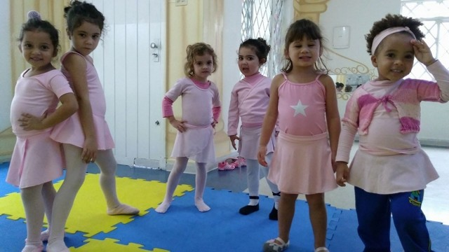 Ballet Infantil Dança Campo Limpo - Aula Ballet Infantil