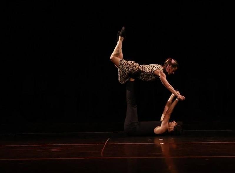 Dança Contemporânea de Casal Valores Brooklin - Dança Contemporânea Aula