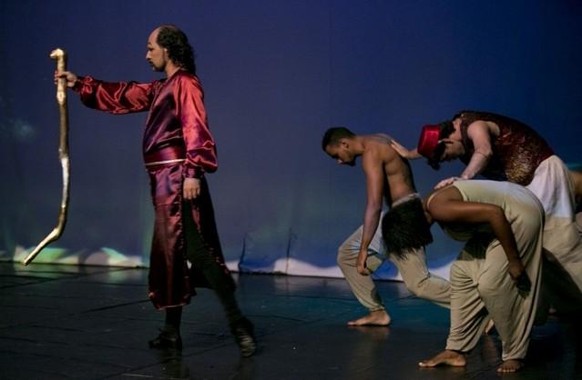 Dança Contemporânea Homens M'Boi Mirim - Dança Contemporânea de Casal