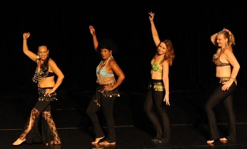 Dança do Ventre Clássica Jurubatuba - Dança do Ventre de Vestido