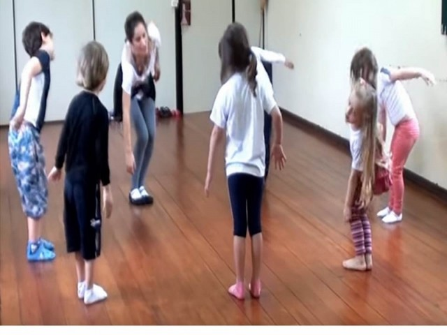 Danças Contemporâneasinfantil Fazenda Morumbi - Dança Contemporânea Dupla