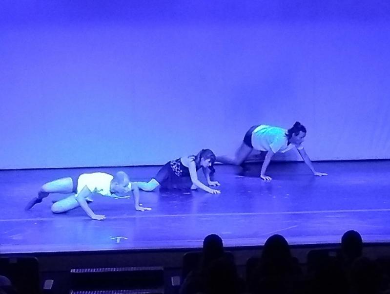 Escola de Dança Contemporânea Moderna Nova Piraju - Dança Contemporânea Aula
