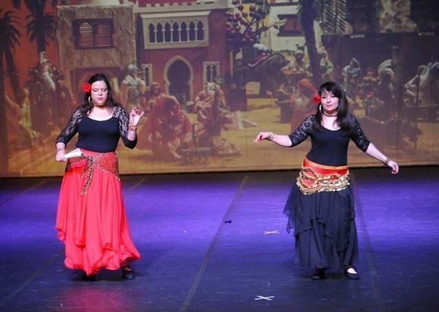 Onde Encontro Dança do Ventre Clássica Parque do Otero - Dança do Ventre Infantil