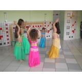 aprender dança do ventre infantil Parque do Otero
