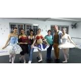 aula de ballet avançado