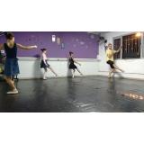 aula de ballet básico