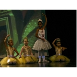 aula de ballet clássico infantil
