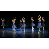 aula de ballet infantil