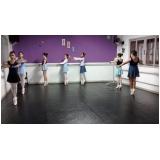 aula de ballet para iniciantes