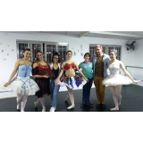 aula de ballet avançado valor Jardim Monte Verde