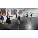 aula de ballet básico valor Jardim São Luiz