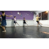 aula de ballet básico Jardim Orly
