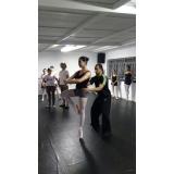 aula de ballet completa preço Cidade Dutra