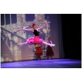 aula de ballet moderno M'Boi Mirim