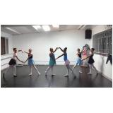 aula de ballet para iniciantes valor Cursino