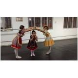 aula de ballet russo para criança valor Água Funda