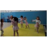 aula de ballet russo para criança Jardim Suzana
