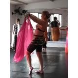 aula de dança do ventre preço Vila Andrade