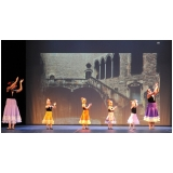 aulas de ballet clássico infantil Água Funda