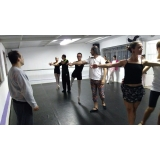 aulas de ballet completa Vila Lusitania