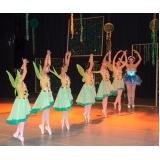aula de ballet infantil avançado