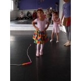ballet infantil aula preço Jardim Santa Helena