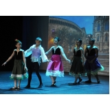ballet infantil iniciante Parque do Otero