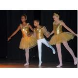 ballet infantil masculino Parque Colonial