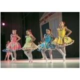 ballet infantil para criança preço Parque do Otero