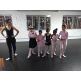 ballet infantil para criança Água Espraiada