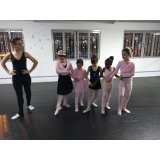 ballet infantil para criança Parque Colonial