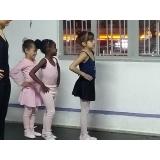 ballet infantil para iniciantes preço Jardim das Acácias