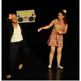 dança contemporânea de casal Aeroporto