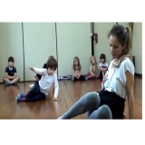 dança contemporânea infantil Parque do Otero
