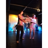 danças contemporâneasde casal Aeroporto