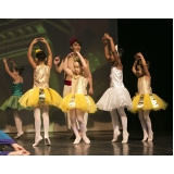 escola de ballet infantil Parque do Otero