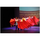escola de dança contemporânea homens Água Espraiada
