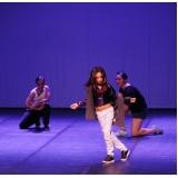 aula de hip hop para criança