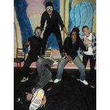 aula de hip hop