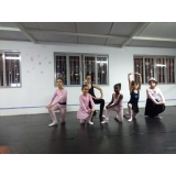 onde encontrar ballet infantil para criança Zona Sul