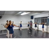 onde encontro aula de ballet básico Alvarenga