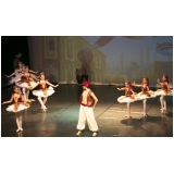 onde encontro aula de ballet infantil Parque do Otero