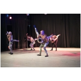 onde tem dança contemporânea escola Santo Amaro