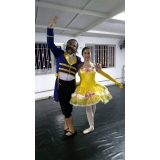 preço da aula de ballet completa Alvarenga