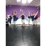 preço da aula de ballet para iniciantes Parque do Otero