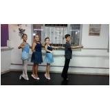 preço da aula de ballet russo para criança Água Funda